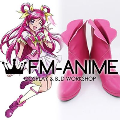 Yes! Pretty Cure 5 GoGo! Yumehara Nozomi Cure Dream Cosplay Shoes Boots