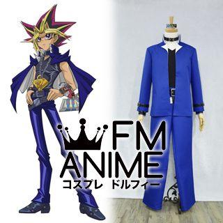 Yu-Gi-Oh! Yugi Mutou / Dark Yugi / Yami Yugi Uniform Cosplay Costume