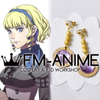 Fire Emblem: Three Houses Constance von Nuvelle Earrings Cosplay Accessories