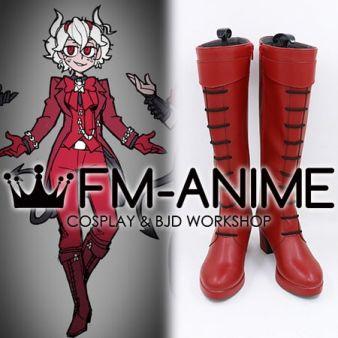 Helltaker Beelzebub Queen Crimson Cosplay Shoes Boots