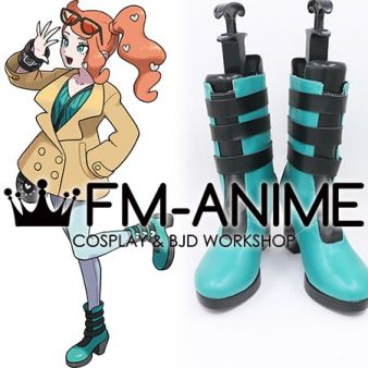 Pokemon Sword and Shield Sonia Cosplay Shoes Boots