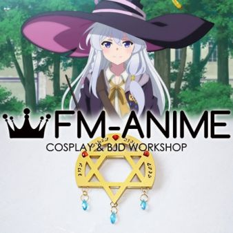 Wandering Witch: The Journey of Elaina Ireina The Ashen Witch Brooch Cosplay Porp Accessory