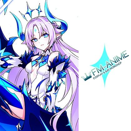 Elsword Luciela Lu R. Sourcream Ishtar Innocent Cosplay Tattoo Stickers