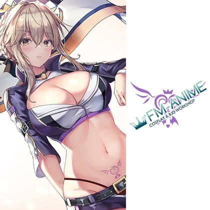 Fate/Grand Order Saber Alter Racing Version Doujin Cosplay Temporary Tattoo Stickers
