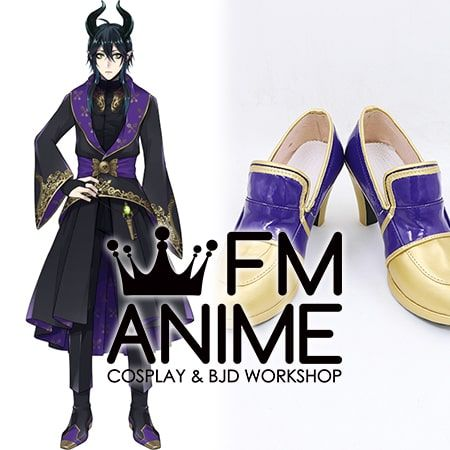 Disney Twisted-Wonderland Ceremonial Robes Cosplay Shoes