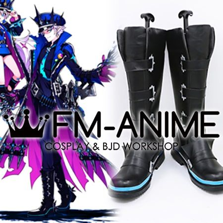 Elsword Ciel Catastrophe Abysser Cosplay Shoes Boots