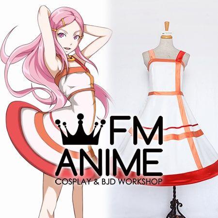 Eureka Seven Anemone Dress Cosplay Costume