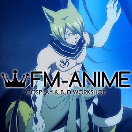 Fairy Tail Jackal Complet Cosplay Costume