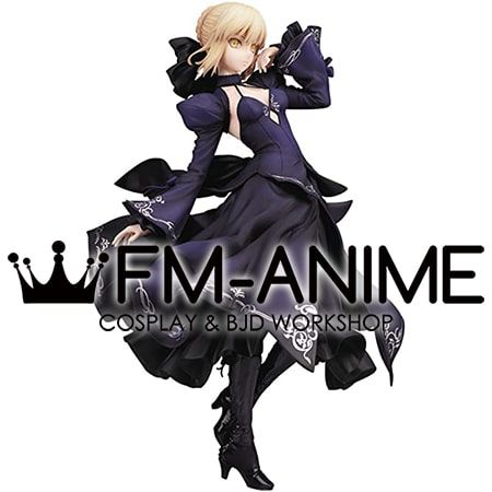 Fate/Grand Order Saber Alter Navy Blue Dress ver. Cosplay Costume