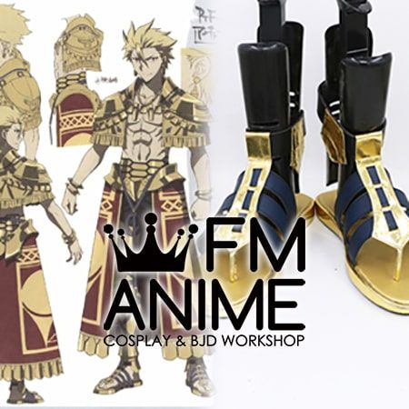 Fate/Prototype Gilgamesh Archer Cosplay Shoes Sandals