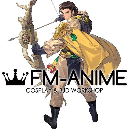 Fire Emblem: Three Houses Claude von Riegan After 5 Year Time Skip Cosplay Costume