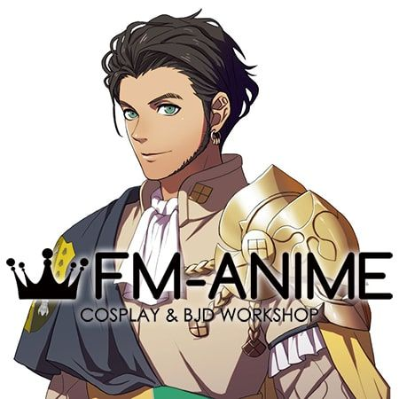Fire Emblem: Three Houses Claude von Riegan After 5 Year Time Skip Cosplay Wig