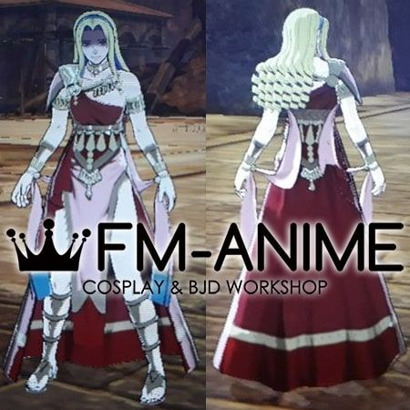 Fire Emblem: Three Houses Constance von Nuvelle Dancer Class Cosplay Costume