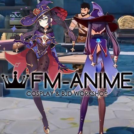 Genshin Impact Mona Megistus Cosplay Costume