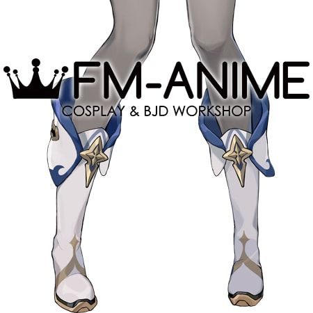 Genshin Impact Sucrose Cosplay Shoes Boots