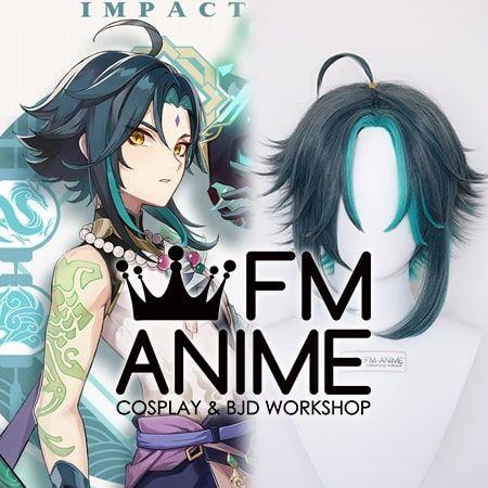 Genshin Impact Xiao Demon Cosplay Wig