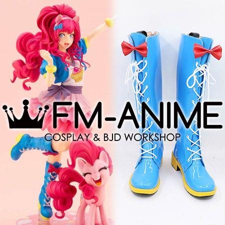 My Little Pony: Pinkie Pie Edicion Limitada Estatua Bishoujo Cosplay Shoes Boots