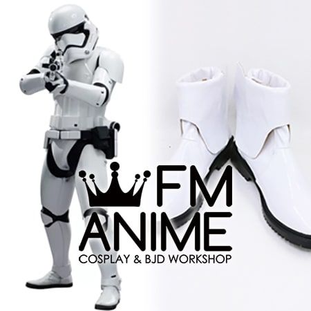 Star Wars: The Force Awakens Stormtrooper Cosplay Shoes