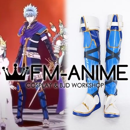 Tokyo Mirage Sessions #FE Itsuki Aoi Marth Form Cosplay Shoes Boots