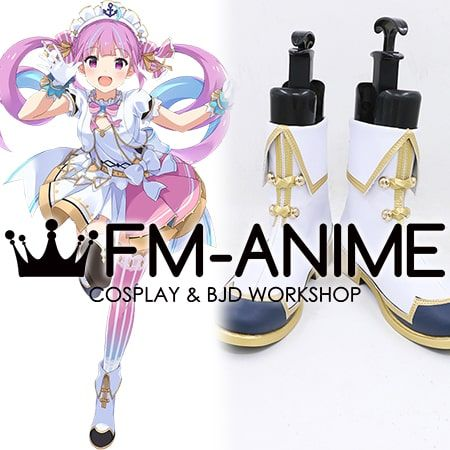 Virtual YouTuber Hololive Minato Aqua Cosplay Shoes Boots