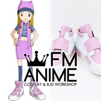 Digimon Frontier Zoe Orimoto Orimoto Izumi Cosplay Shoes