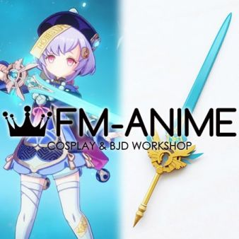 Genshin Impact Qiqi Skyward Blade Claymore Sword Cosplay Prop Weapon