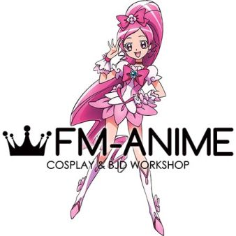 HeartCatch PreCure! Cure Blossom Cosplay Costume