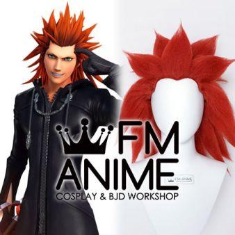 Kingdom Hearts Lea Axel Cosplay Wig