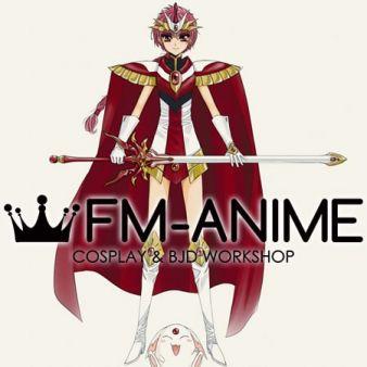 Magic Knight Rayearth Hikaru Shidou Cosplay Costume