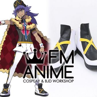 Pokemon Sword and Shield Leon Cosplay Shoes Boots