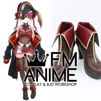 Virtual YouTuber Vtuber Hololive Houshou Marine Cosplay Shoes Boots