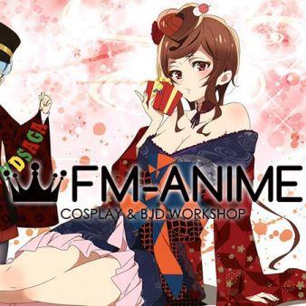 Zombieland Saga Yugiri Kimono Cosplay Costume