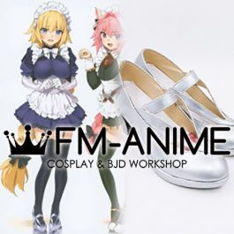 Details about  /Fate Grand Order FGO Jeanne d/'Arc Maid Cosplay Shoes Women Boots