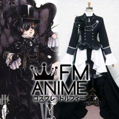 Black Butler Ciel Phantomhive Black Cosplay Costume (Vol.06)