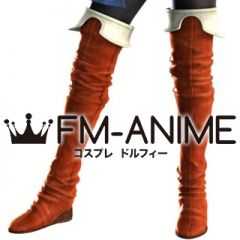 Final Fantasy III Refia Cosplay Shoes Boots