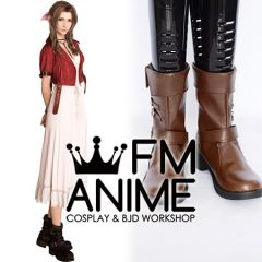 Final Fantasy VII Remake Aerith Gainsborough Cosplay Shoes Boots