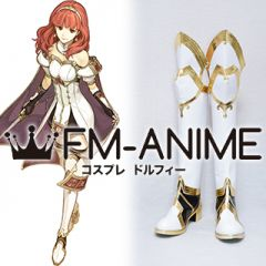 Fire Emblem Echoes: Shadows of Valentia Fire Emblem Heroes Celica Cosplay Shoes Boots
