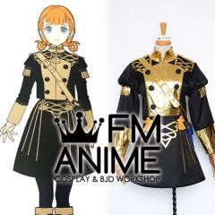 Fire Emblem: Three Houses Annette Fantine Dominic Military Uniform Cosplay Costume