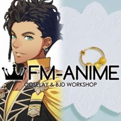 Fire Emblem: Three Houses Claude Von Riegan Clip-on Earring Cosplay Accessory (Gold / Silver)