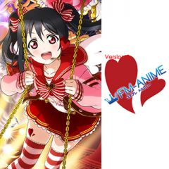 Love Live! Valentine Cards Cosplay Tattoo Stickers (Version 2)