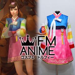 Overwatch Palanquin D.VA Skin Dress Cosplay Costume