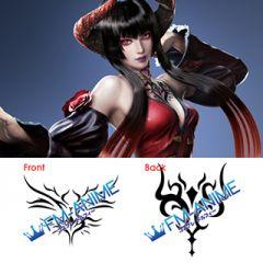 Tekken 7 Eliza Cosplay Tattoo Stickers