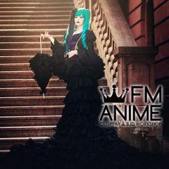 Vocaloid Hatsune Miku Sandplay Singing of the Dragon Cosplay Costume (Version 2)