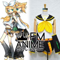 Vocaloid Kagamine Rin Format Cosplay Costume