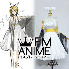 Vocaloid Kagamine Rin Synchronicity Dress Cosplay Costume