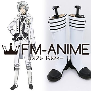 Black Butler Charles Grey Cosplay Shoes Boots
