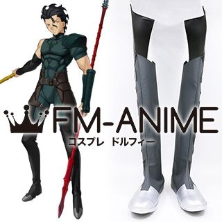 Fate/Zero Lancer Diarmuid Ua Duibhne Cosplay Shoes Boots