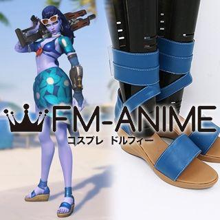 Overwatch Widowmaker Cote D'Azur Cosplay Shoes