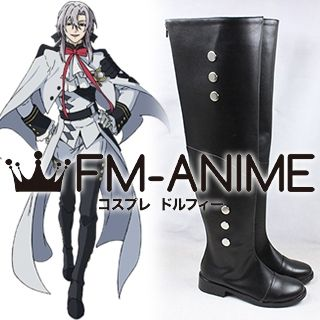 Seraph of the End Ferid Bathory Cosplay Shoes Boots