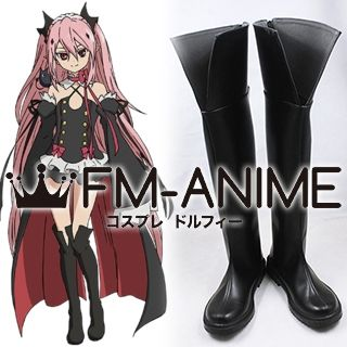 Seraph of the End Krul Tepes Cosplay Shoes Boots